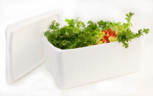 caja porex - embalaje alimentario