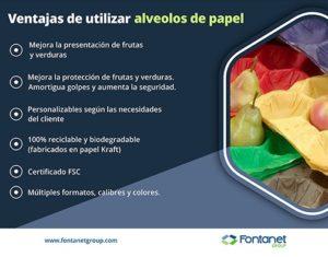alveolos de papel